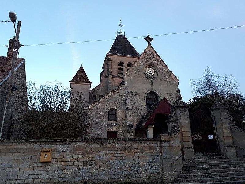 Photo du Monument Historique Eglise situé à Chivres-Val