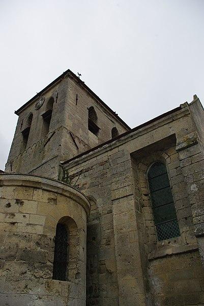 Photo du Monument Historique Eglise situé à Chivy-lès-Etouvelles