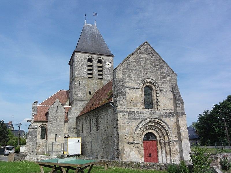 Photo du Monument Historique Eglise situé à Condé-sur-Aisne