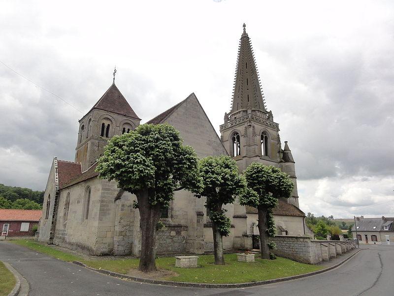 Photo du Monument Historique Eglise situé à Coucy-la-Ville