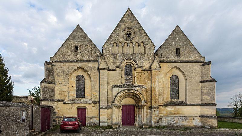 Photo du Monument Historique Eglise situé à Coucy-le-Château-Auffrique