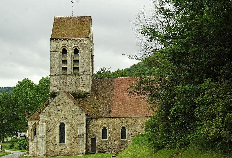 Photo du Monument Historique Eglise situé à Courtemont-Varennes