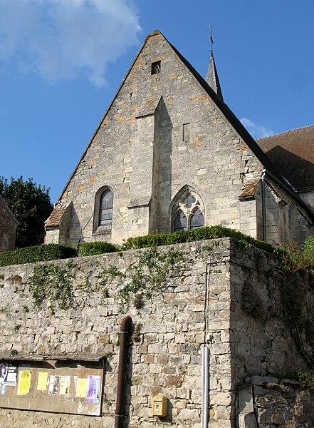 Photo du Monument Historique Eglise situé à Dampleux