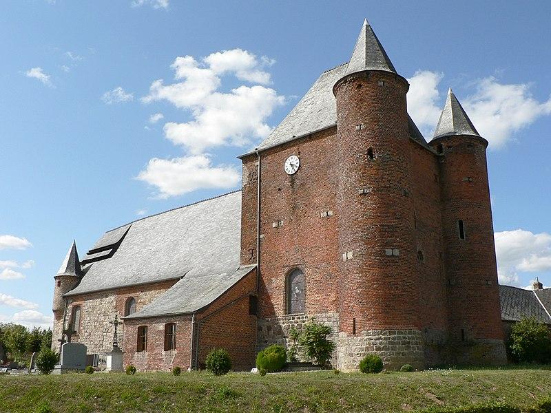Photo du Monument Historique Eglise Saint-Nicolas situé à Englancourt