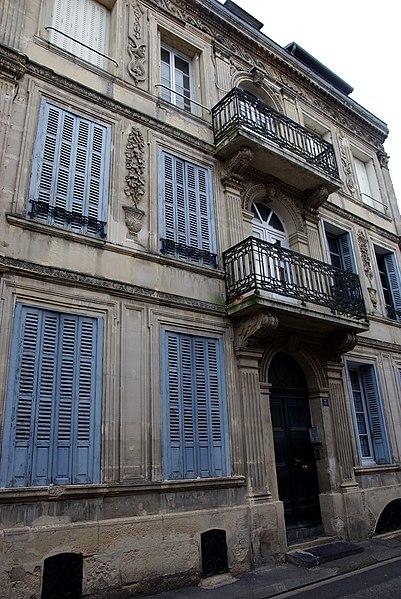 Photo du Monument Historique Immeuble situé à La Fère