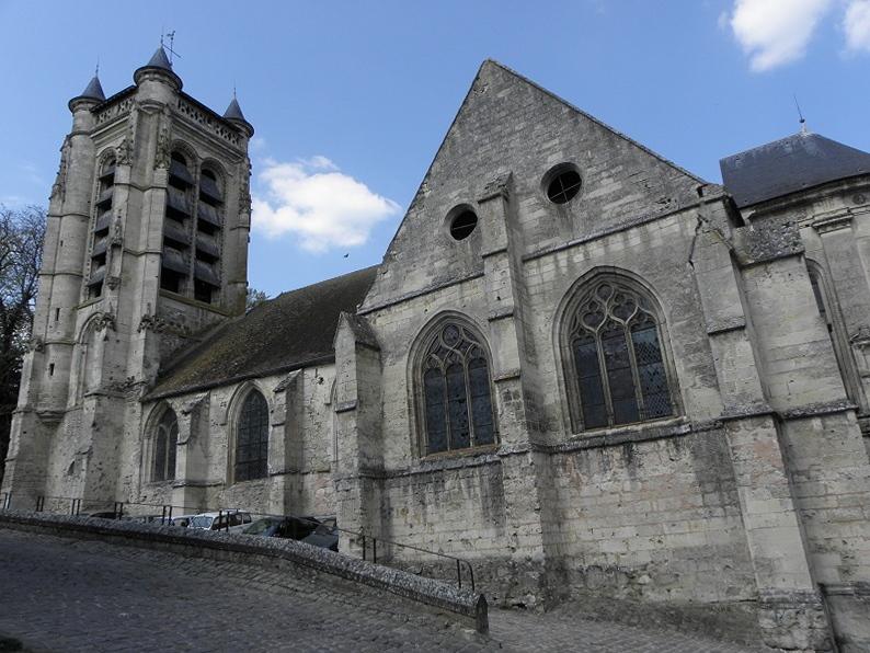 Photo du Monument Historique Eglise Notre-Dame situé à La Ferté-Milon
