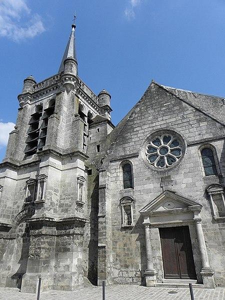 Photo du Monument Historique Eglise Saint-Nicolas situé à Ferté-Milon (La)