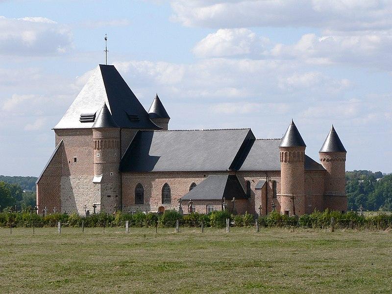 Photo du Monument Historique Eglise de Beaurain situé à Flavigny-le-Grand-et-Beaurain