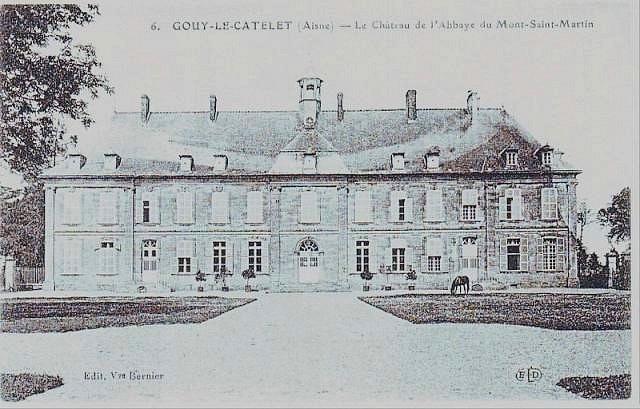 Photo du Monument Historique Ancienne abbaye du Mont-Saint-Martin situé à Gouy