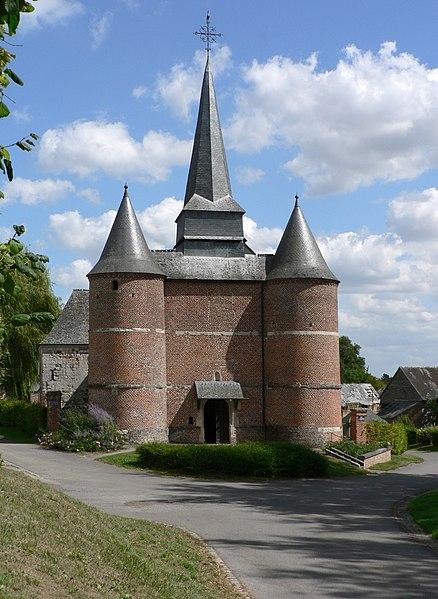 Photo du Monument Historique Eglise Saint-Thious situé à Gronard