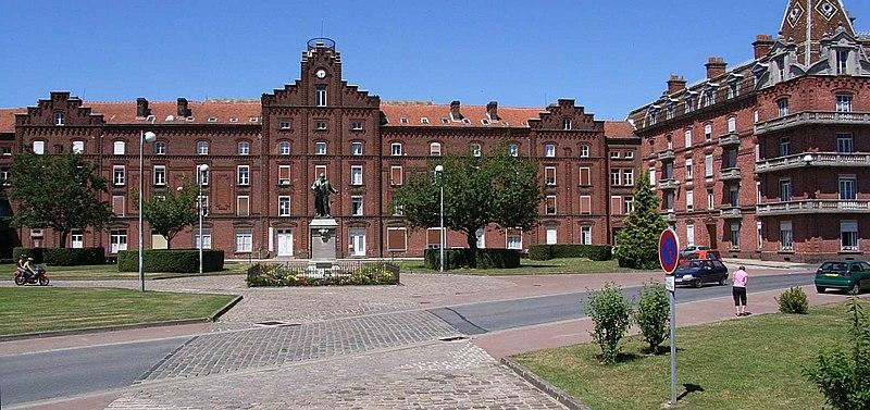 Photo du Monument Historique Familistère Godin situé à Guise