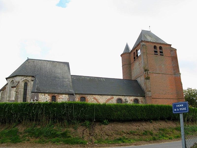 Photo du Monument Historique Eglise situé à Hary