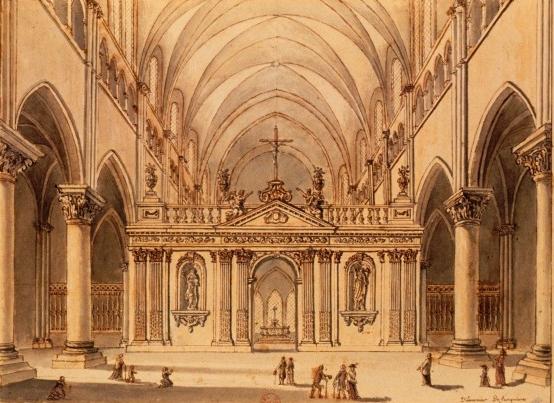 Photo du Monument Historique Ancienne abbaye Saint-Vincent situé à Laon