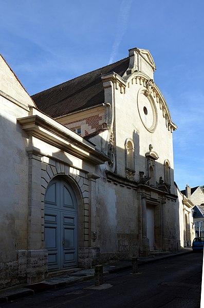 Photo du Monument Historique Ancien couvent des Dames de la Congrégation Notre-Dame situé à Laon