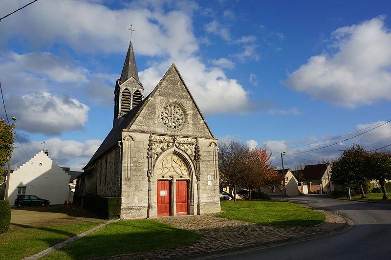 Photo du Monument Historique Eglise de Leuilly situé à Laon