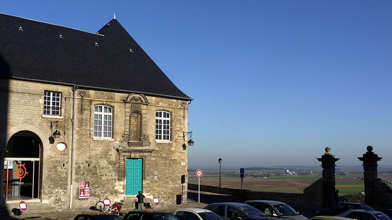 Photo du Monument Historique Ancien Hôtel-Dieu situé à Laon