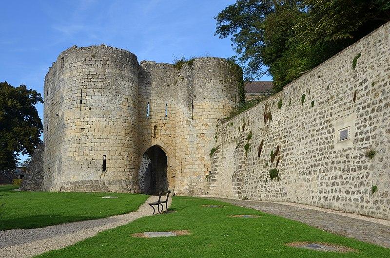 Photo du Monument Historique Porte de Soissons ou de Saint-Martin situé à Laon