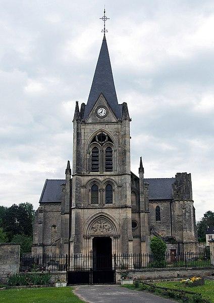 Photo du Monument Historique Eglise situé à Laval-en-Laonnois