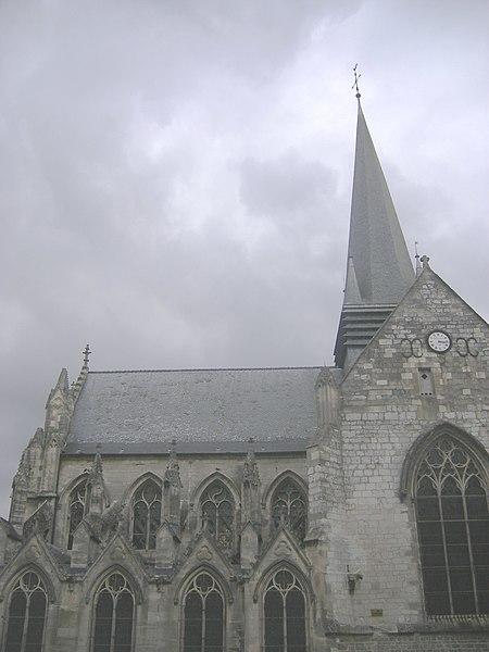 Photo du Monument Historique Basilique Notre-Dame situé à Liesse-Notre-Dame
