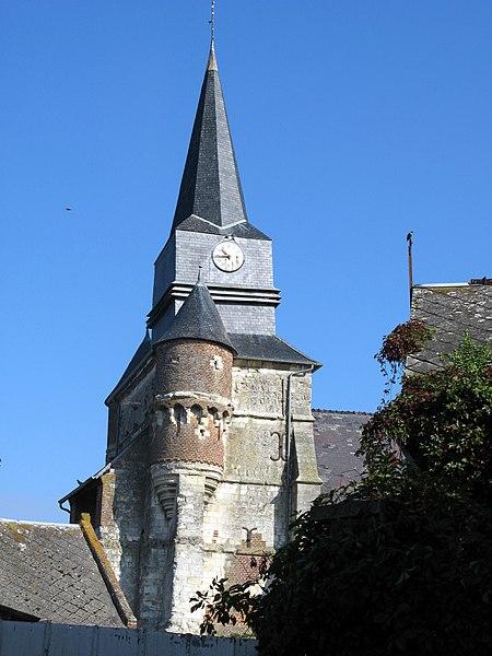 Photo du Monument Historique Eglise situé à Macquigny