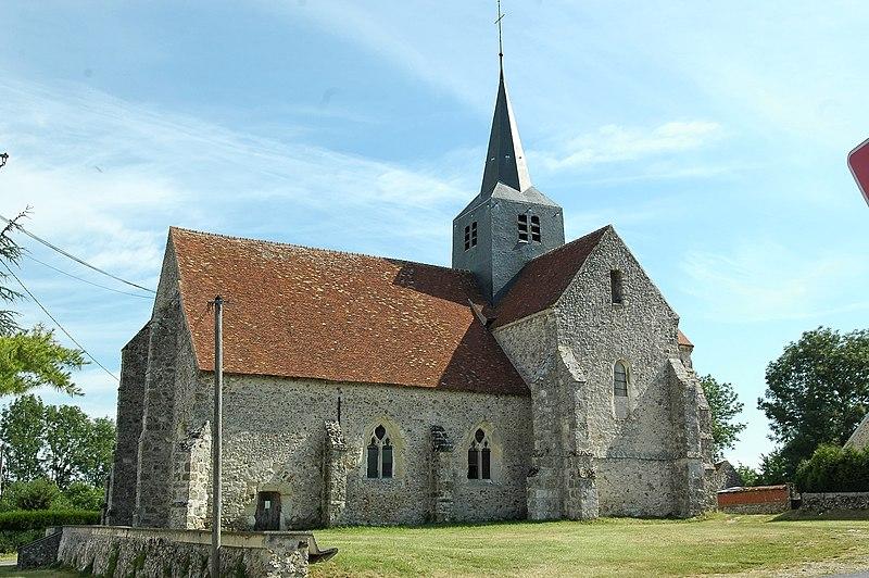 Photo du Monument Historique Eglise situé à Marchais-en-Brie
