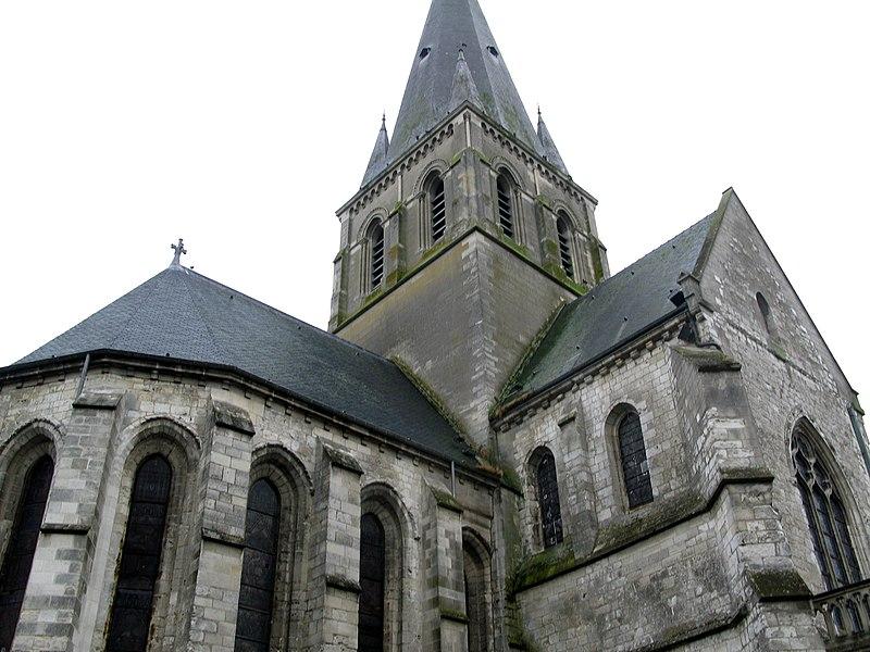 Photo du Monument Historique Eglise Notre-Dame situé à Marle