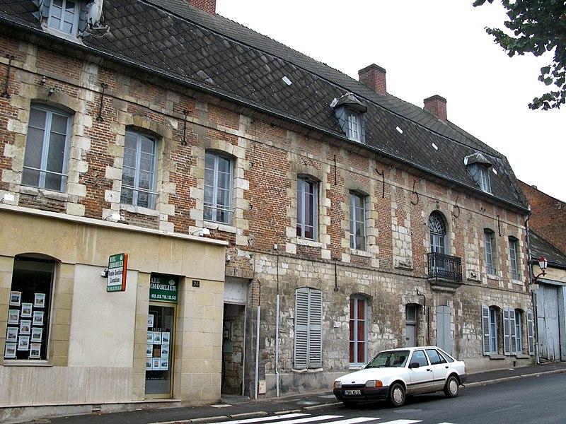 Photo du Monument Historique Relais de poste situé à Marle