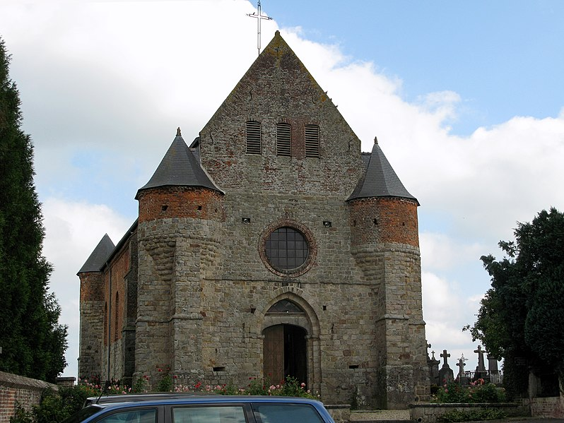 Photo du Monument Historique Eglise situé à Marly-Gomont