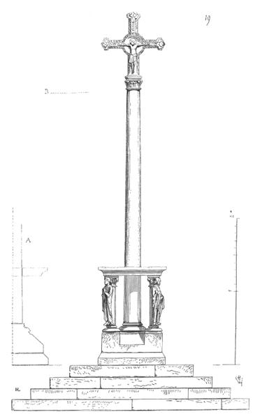 Photo du Monument Historique Croix de cimetière situé à Mézy-Moulins