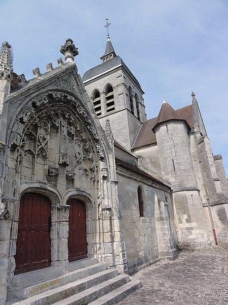 Photo du Monument Historique Eglise situé à Missy-sur-Aisne