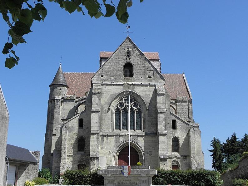 Photo du Monument Historique Eglise situé à Mons-en-Laonnois