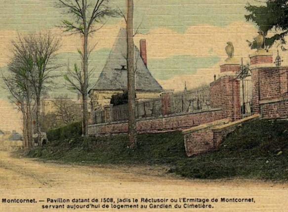 Photo du Monument Historique Ermitage situé à Montcornet