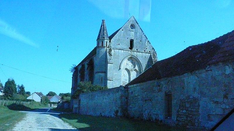 Photo du Monument Historique Ancienne commanderie de templiers de Moisy situé à Montigny-l'Allier
