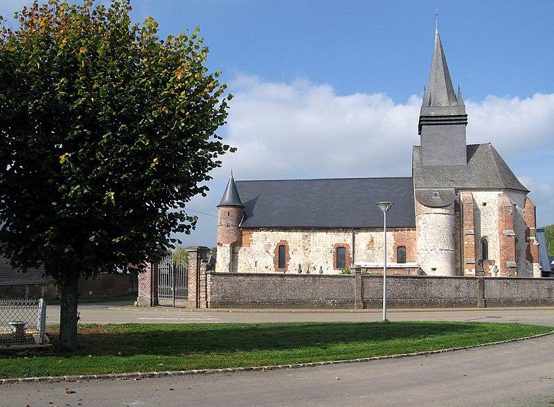 Photo du Monument Historique Eglise situé à Morgny-en-Thiérache