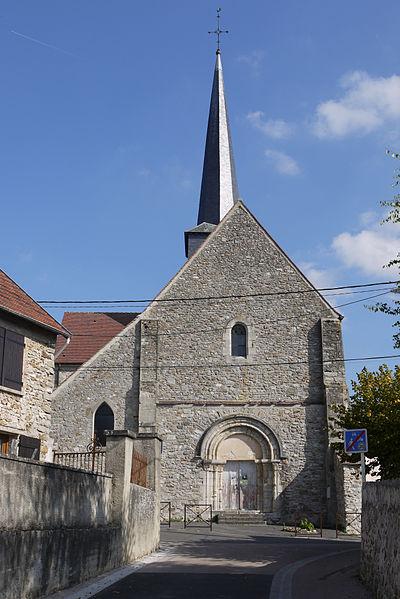 Photo du Monument Historique Eglise situé à Nesles-la-Montagne