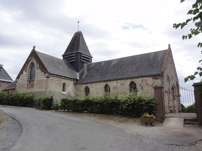 Photo du Monument Historique Eglise situé à La Neuville-en-Beine