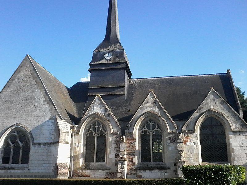 Photo du Monument Historique Eglise situé à Nouvion-le-Comte