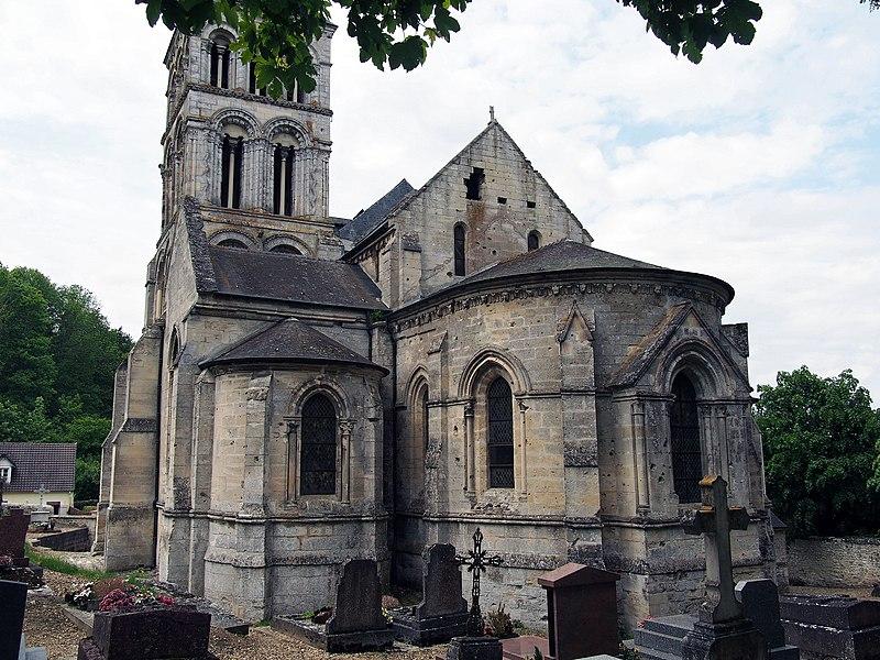 Photo du Monument Historique Eglise situé à Nouvion-le-Vineux