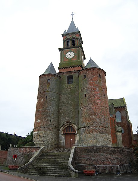 Photo du Monument Historique Eglise situé à Origny-en-Thiérache