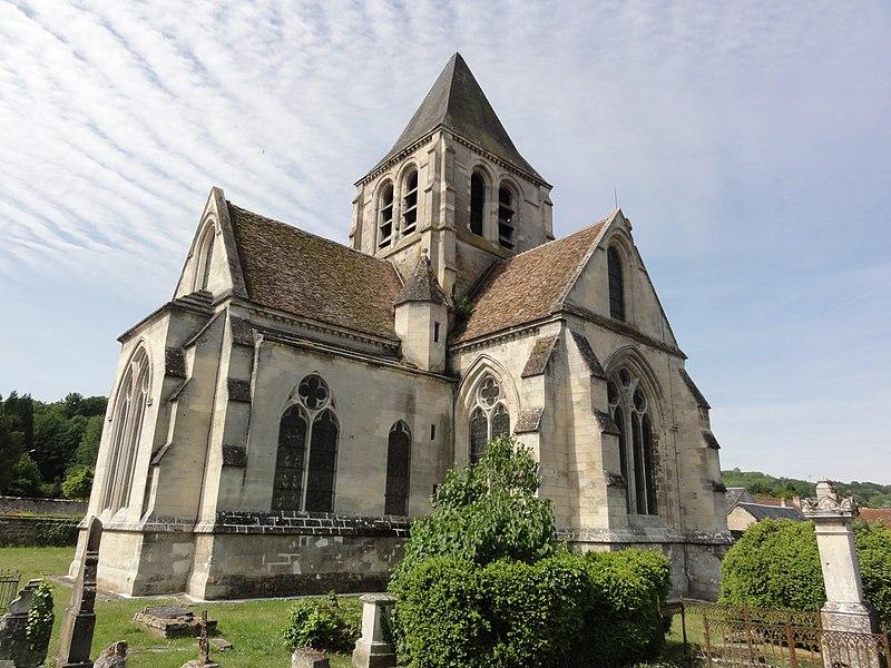 Photo du Monument Historique Eglise situé à Presles-et-Boves