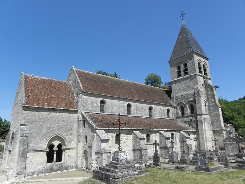 Photo du Monument Historique Eglise situé à Presles-et-Thierny