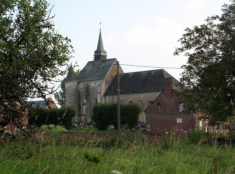 Photo du Monument Historique Eglise situé à Renneval