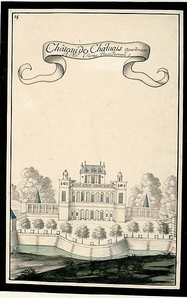 Photo du Monument Historique Ancien château situé à Royaucourt-et-Chailvet