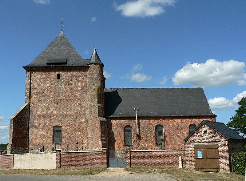 Photo du Monument Historique Eglise situé à Saint-Algis