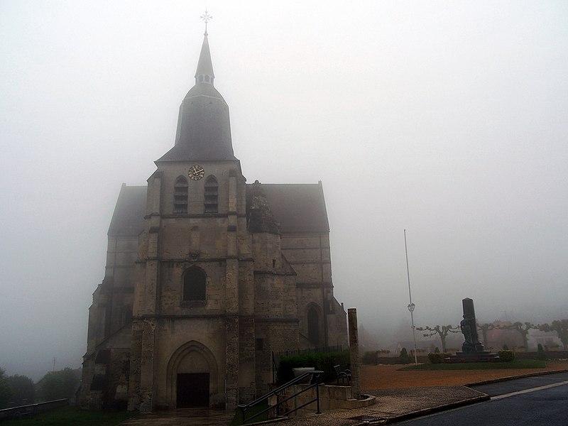 Photo du Monument Historique Eglise situé à Saint-Gobain