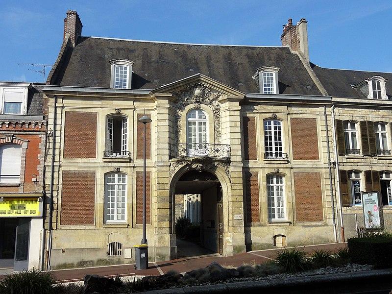 Photo du Monument Historique Hôtel situé à Saint-Quentin