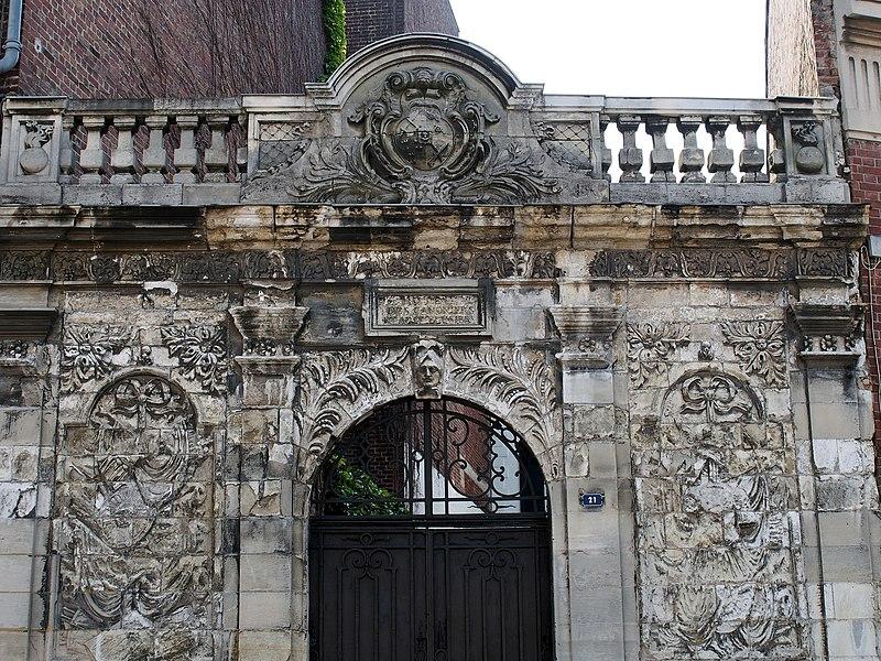 Photo du Monument Historique Porte dite des Canonniers situé à Saint-Quentin