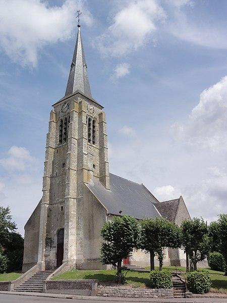 Photo du Monument Historique Eglise situé à Serain
