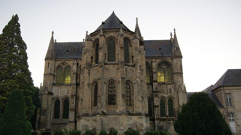 Photo du Monument Historique Ancienne abbaye Saint-Léger situé à Soissons
