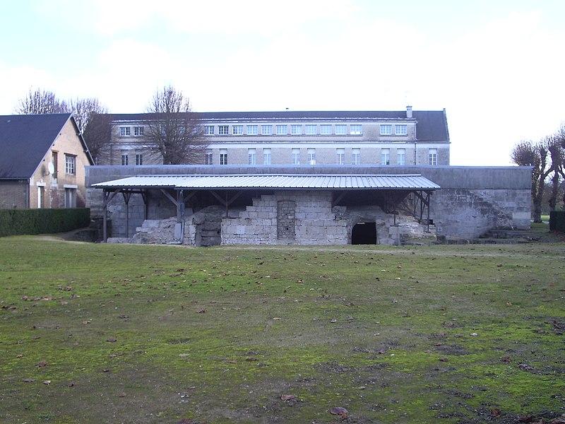 Photo du Monument Historique Ancienne abbaye Saint-Médard situé à Soissons
